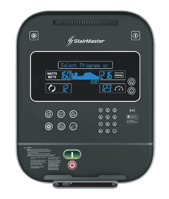 StairMaster LCD